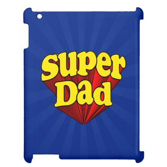 Super Dad Case Savvy Glossy Finish iPad Case