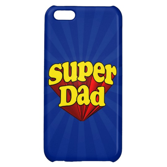 Super Dad Case Savvy Glossy Finish iPhone 5C Case