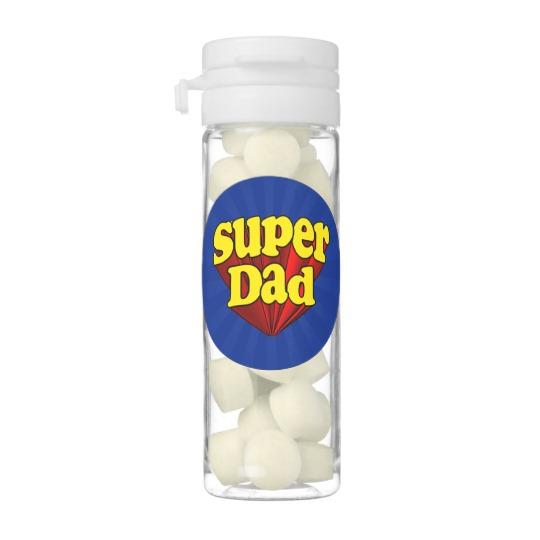 Super Dad Flip Top Tubes Gum