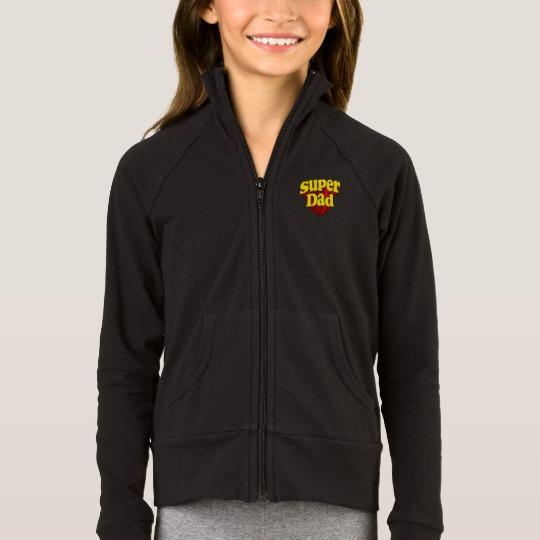 Super Dad Girls' Boxercraft Practice Jacket