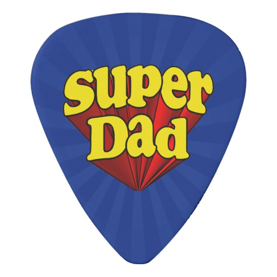 Super Dad Guitar Pick