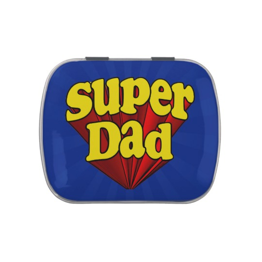 Super Dad Jelly Belly™ Candy Tin