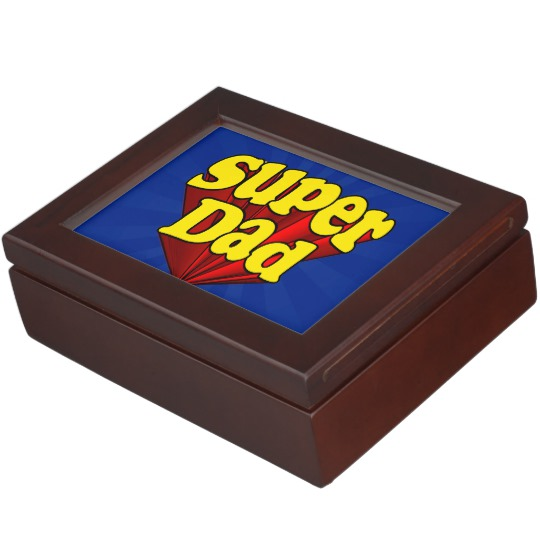 Super Dad Keepsake Box