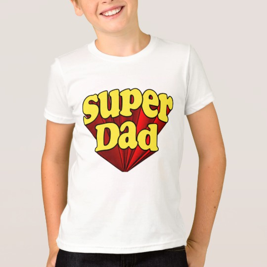 Super Dad Kids' American Apparel Fine Jersey T-Shirt