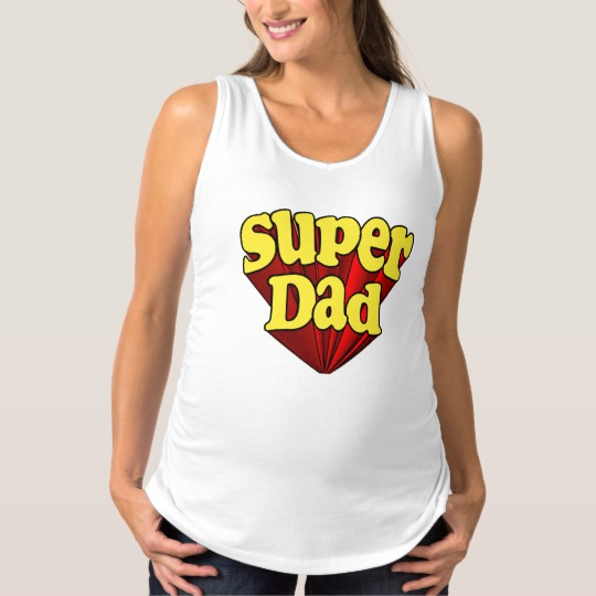 Super Dad Maternity Tank Top