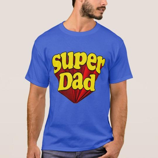 Super Dad Men's Basic Dark T-Shirt