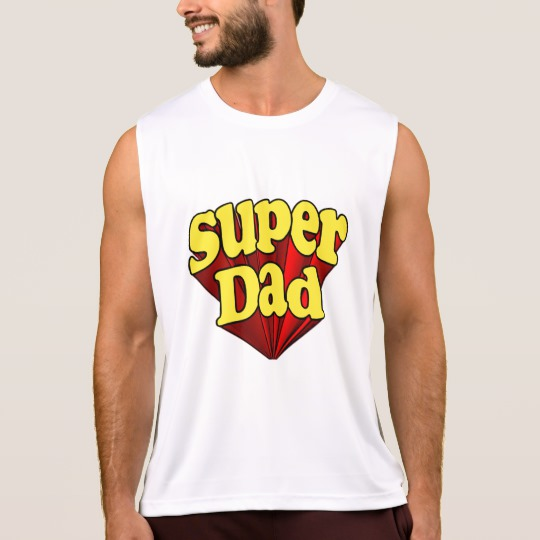 Super Dad Men's Performance Tank Top