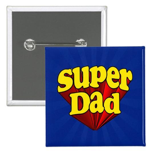 Super Dad Square Button
