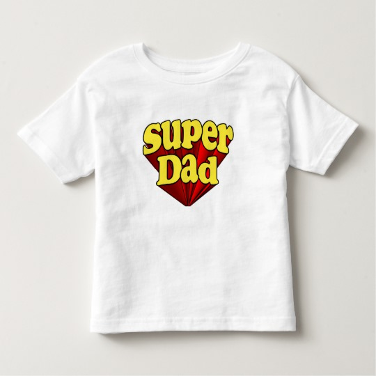 Super Dad Toddler Fine Jersey T-Shirt