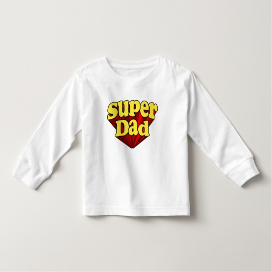 Super Dad Toddler Long Sleeve T-Shirt