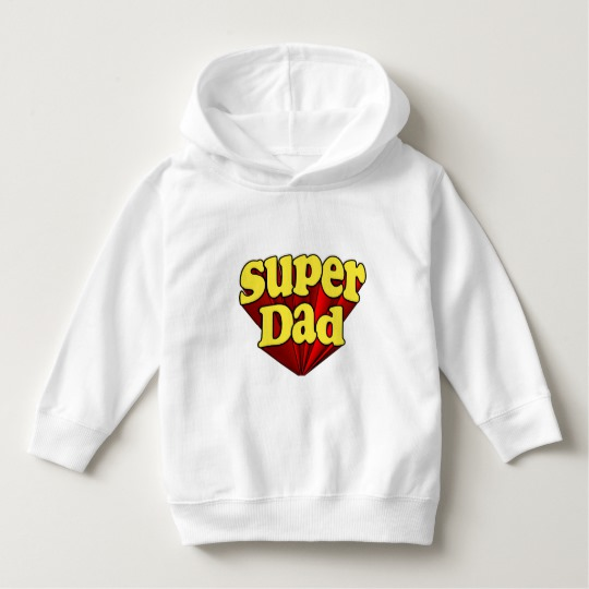 Super Dad Toddler Pullover Hoodie