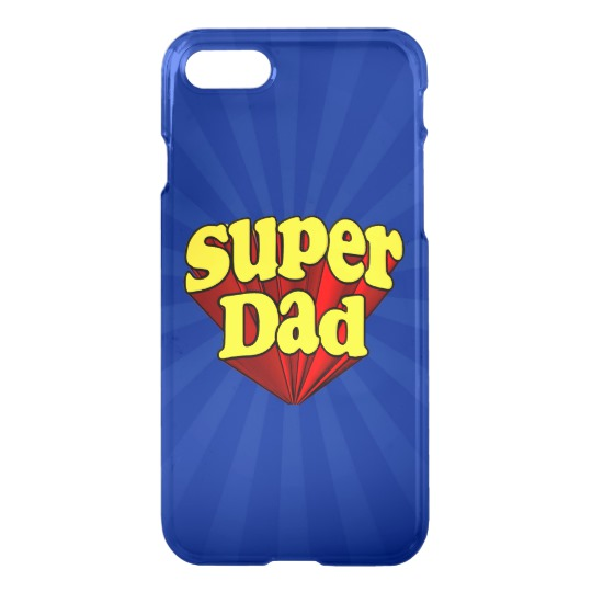 Super Dad Uncommon iPhone 7 Clearly™ Deflector Case