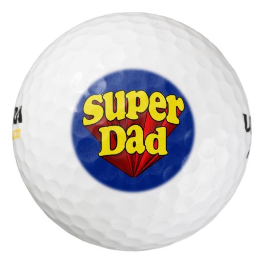 Super Dad Wilson Ultra 500 Distance Golf Ball (3 pack)