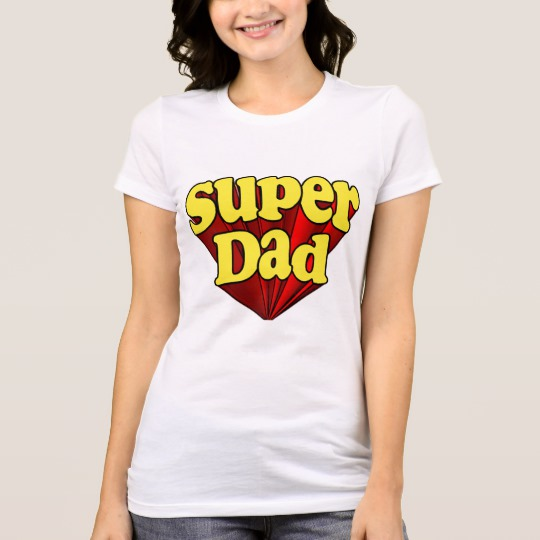 Super Dad Women's Bella+Canvas Favorite Jersey T-Shirt