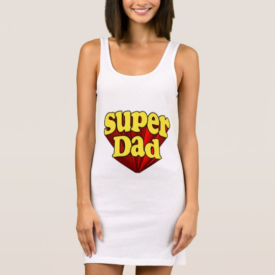 Super Dad Women's Jersey Tank Dress