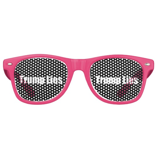 Trump Lies Adult Retro Party Shades