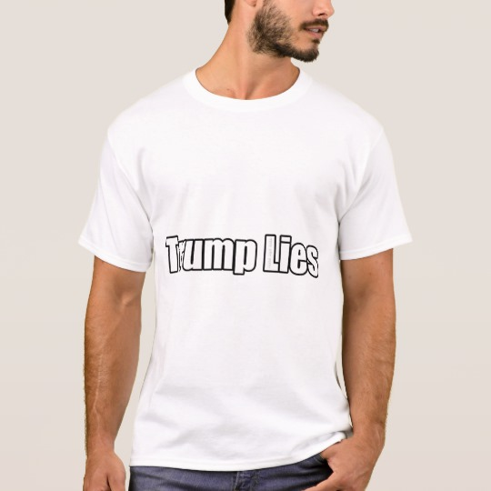 Trump Lies Basic T-Shirt