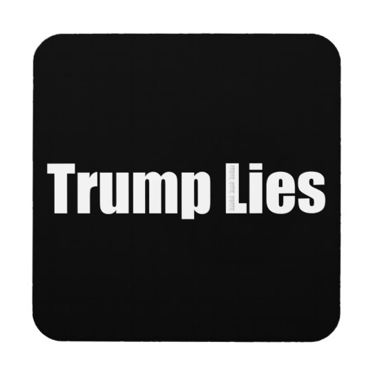 Trump Lies Coaster