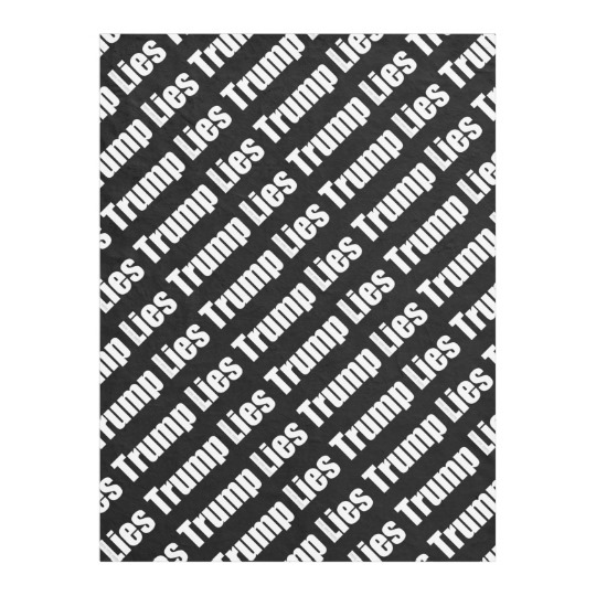 "Trump Lies Fleece Blanket, 30""x40"""