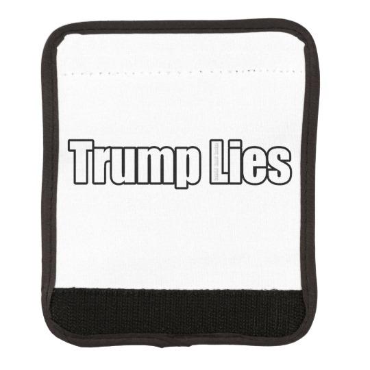 Trump Lies Luggage Handle Wrap