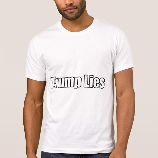 Trump Lies Men's Alternative Apparel Crew Neck T-Shirt