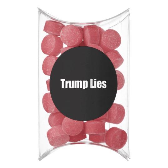 Trump Lies Pillow Box Favor