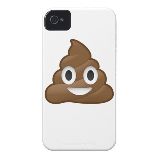Smiling Poop Emoji Case-Mate iPhone 4 Barely There Universal Case
