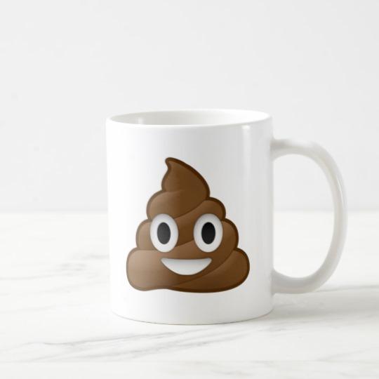 Smiling Poop Emoji Classic Mug
