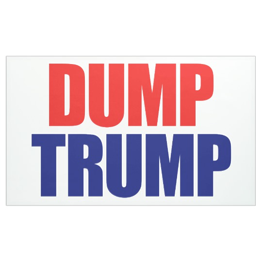 Dump Trump 3' x 5' Banner