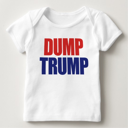 Dump Trump Baby American Apparel Lap T-Shirt