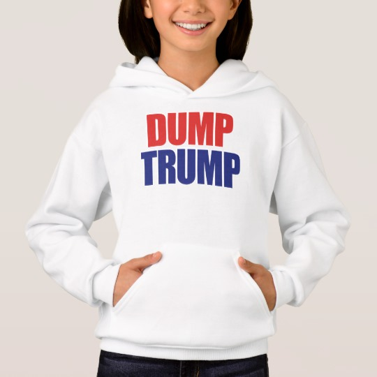 Dump Trump Girls' Hanes ComfortBlend® Hoodie