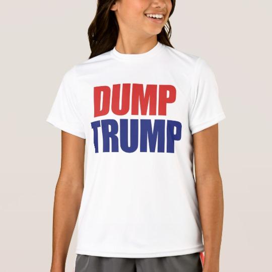 Dump Trump Girls' Sport-Tek Competitor T-Shirt