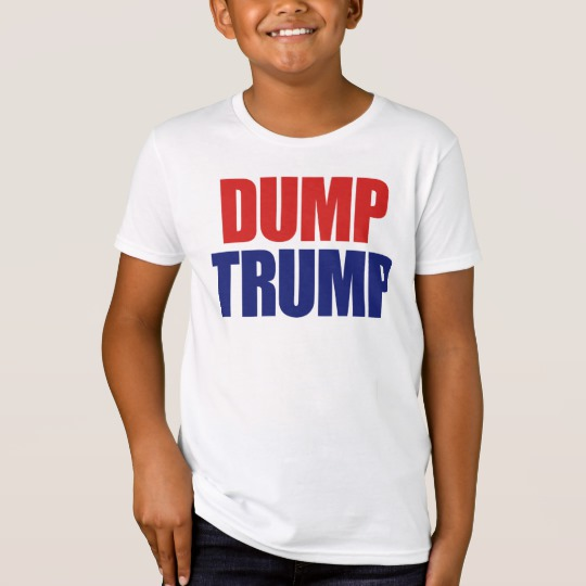 Dump Trump Kids' American Apparel Organic T-Shirt
