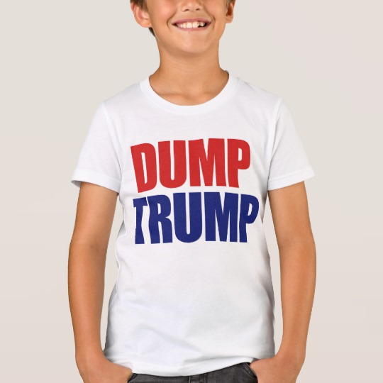 Dump Trump Kids' Bella+Canvas Crew T-Shirt