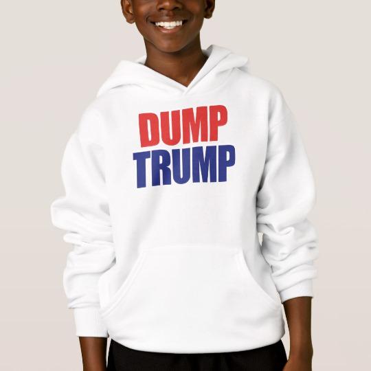 Dump Trump Kids' Hanes ComfortBlend® Hoodie