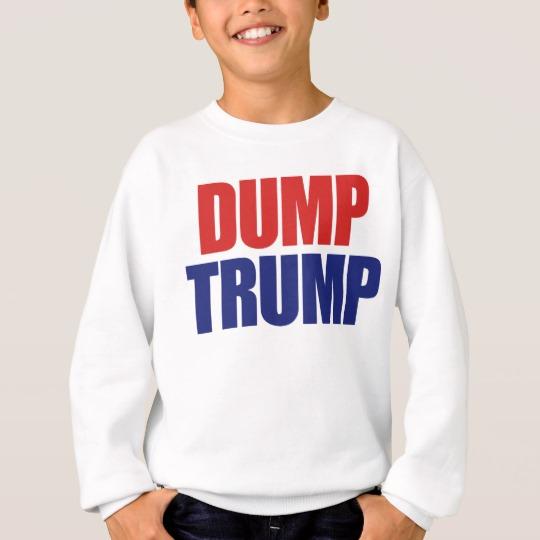 Dump Trump Kids' Hanes ComfortBlend® Sweatshirt
