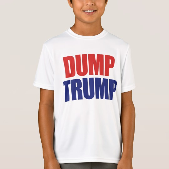 Dump Trump Kids' Sport-Tek Competitor T-Shirt