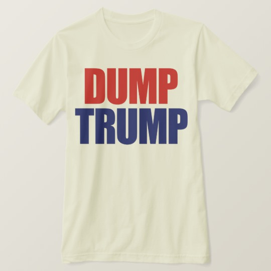 Dump Trump Men's American Apparel Organic T-Shirt