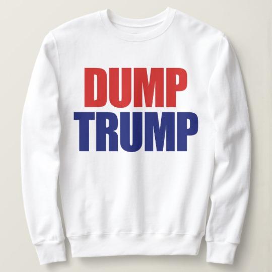 Dump Trump Men's Basic Sweatshirt