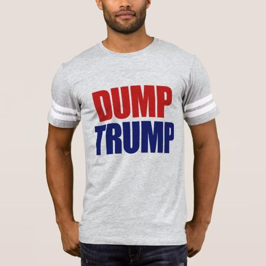 Dump Trump Men's Football T-Shirt