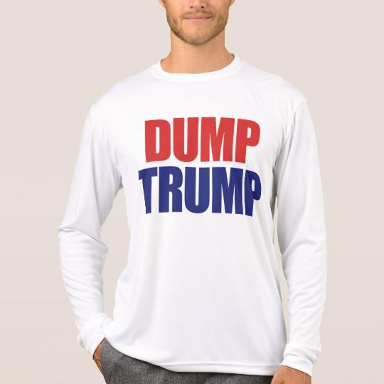 Dump Trump Men's Sport-Tek Competitor Long Sleeve T-Shirt