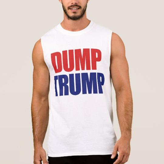 Dump Trump Men's Ultra Cotton Sleeveless T-Shirt