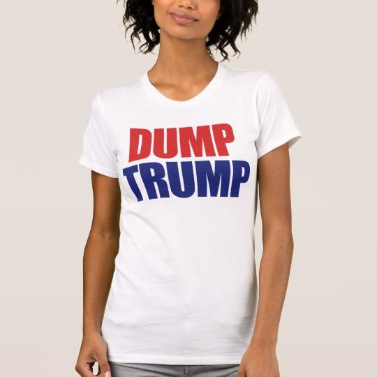 Dump Trump Women's Alternative Apparel Crew Neck T-Shirt
