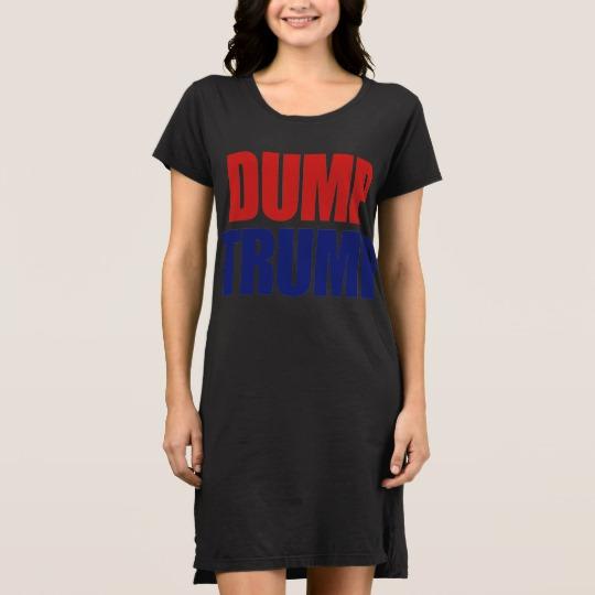 Dump Trump Women's Alternative Apparel T-Shirt Dress