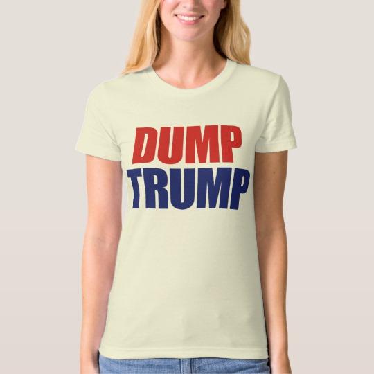 Dump Trump Women's American Apparel Organic T-Shirt