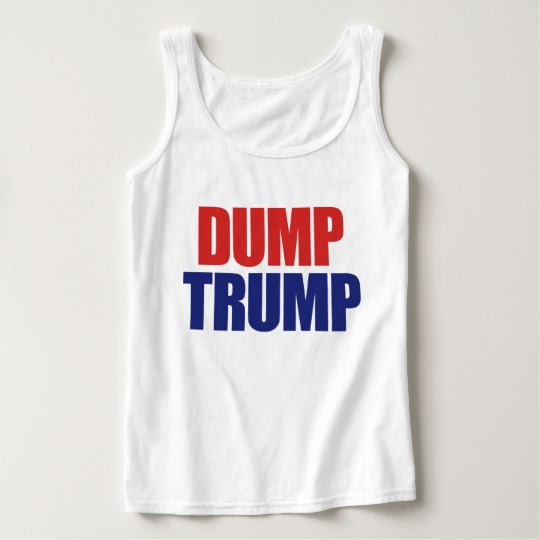 Dump Trump Women's Basic Tank Top