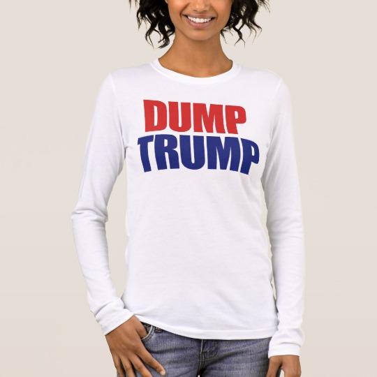 Dump Trump Women's Bella+Canvas Long Sleeve T-Shirt