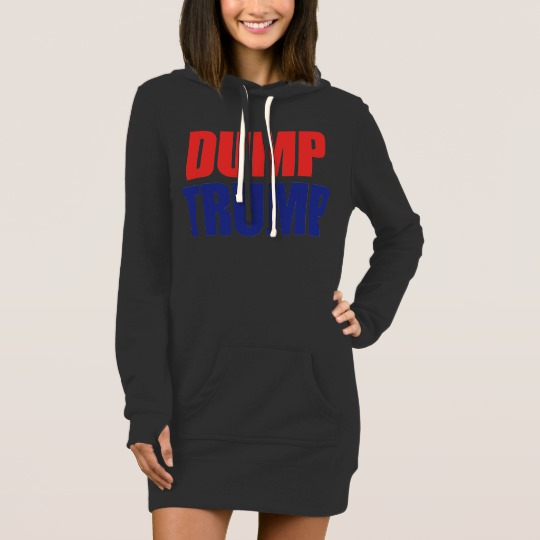 Dump Trump Women's Hoodie Dress