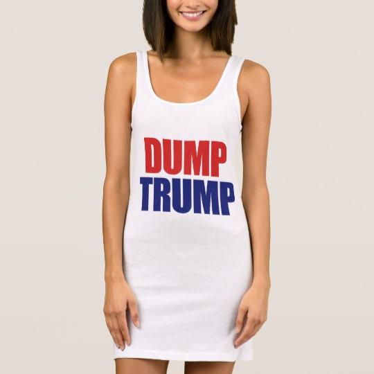 Dump Trump Women's Jersey Tank Dress