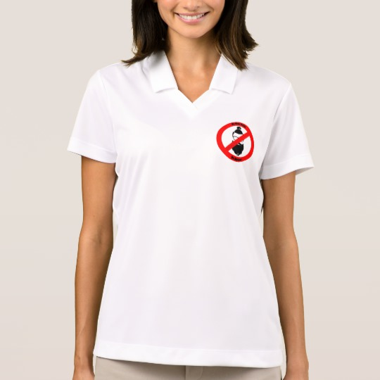 No Man Buns No Hipsters Men's Nike Dri-FIT Pique Polo Shirt